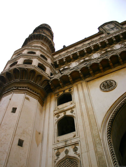 North-West minaret of the Charminar