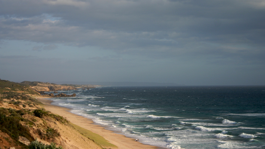 Coastline from Portsea