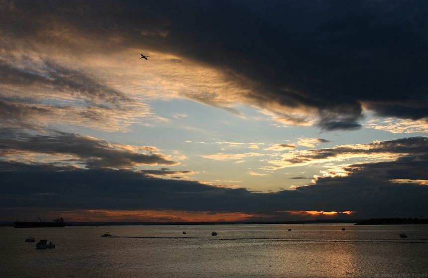 Sunset from La Perouse