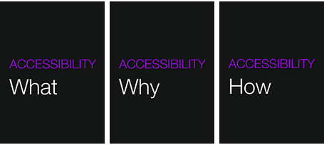 Accessibility Seminar slides - What, why and how?