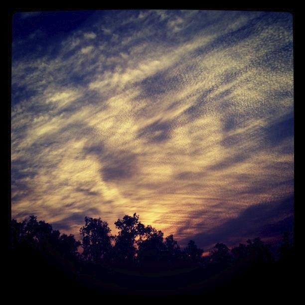 Sunset over Chakulia