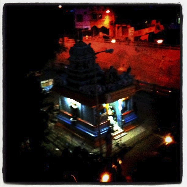 Temple at Nungambakkam Station Underpass