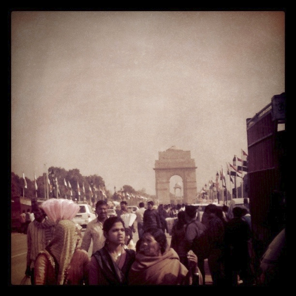 Rajpath on Independence Day