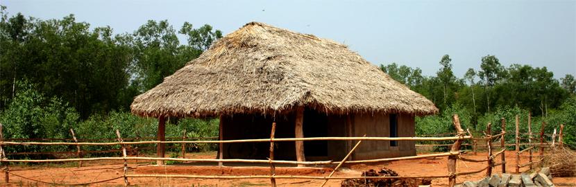 Hut panaroma