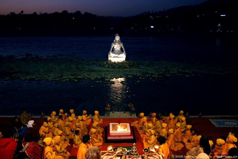 Ganga Aarti at Rishikesh