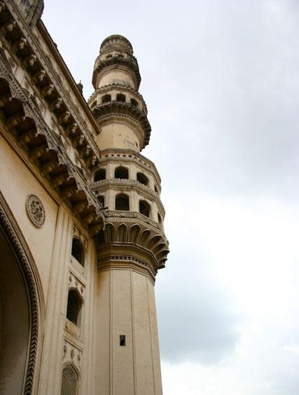 South-West minaret of the Charminar