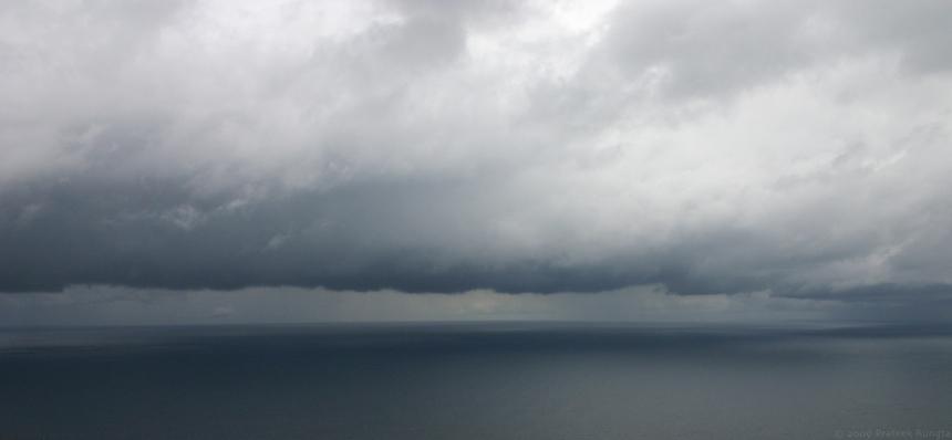 Panoramic view of the horizon