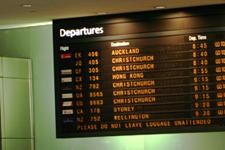 International Departure